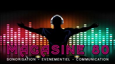 Magasine80 Sonorisation:spécialiste évènementiel et de la location de matériel: sonorisation, projection vidéo, éclairage, sonorisation pyrotechnique,...